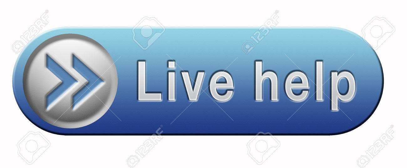 live help online help or support desk call center customer service