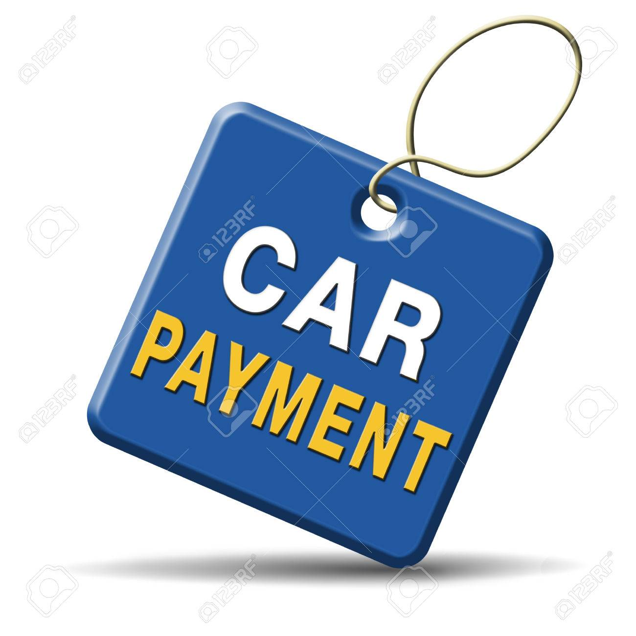 car payment or loan from bank financing for expensive first mobile buying on credit Stock Photo - 24457870