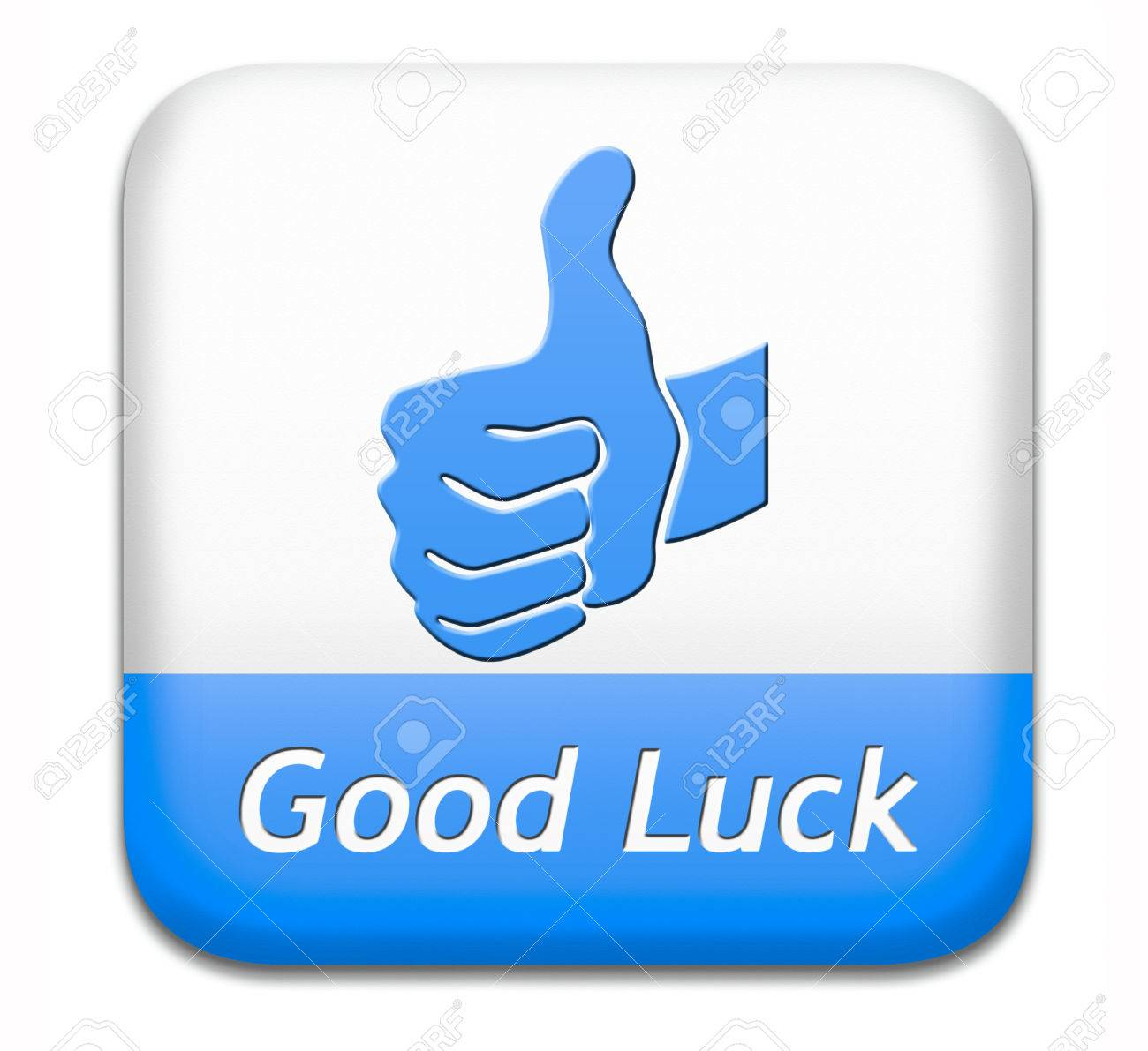 Good Luck Best Wishes Wish You The Best Of Luck And Fortune Stock