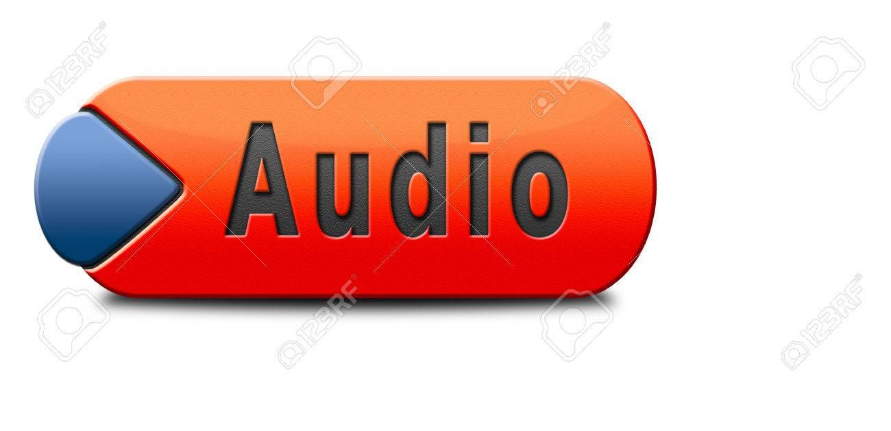 Resultado de imagen para boton audio