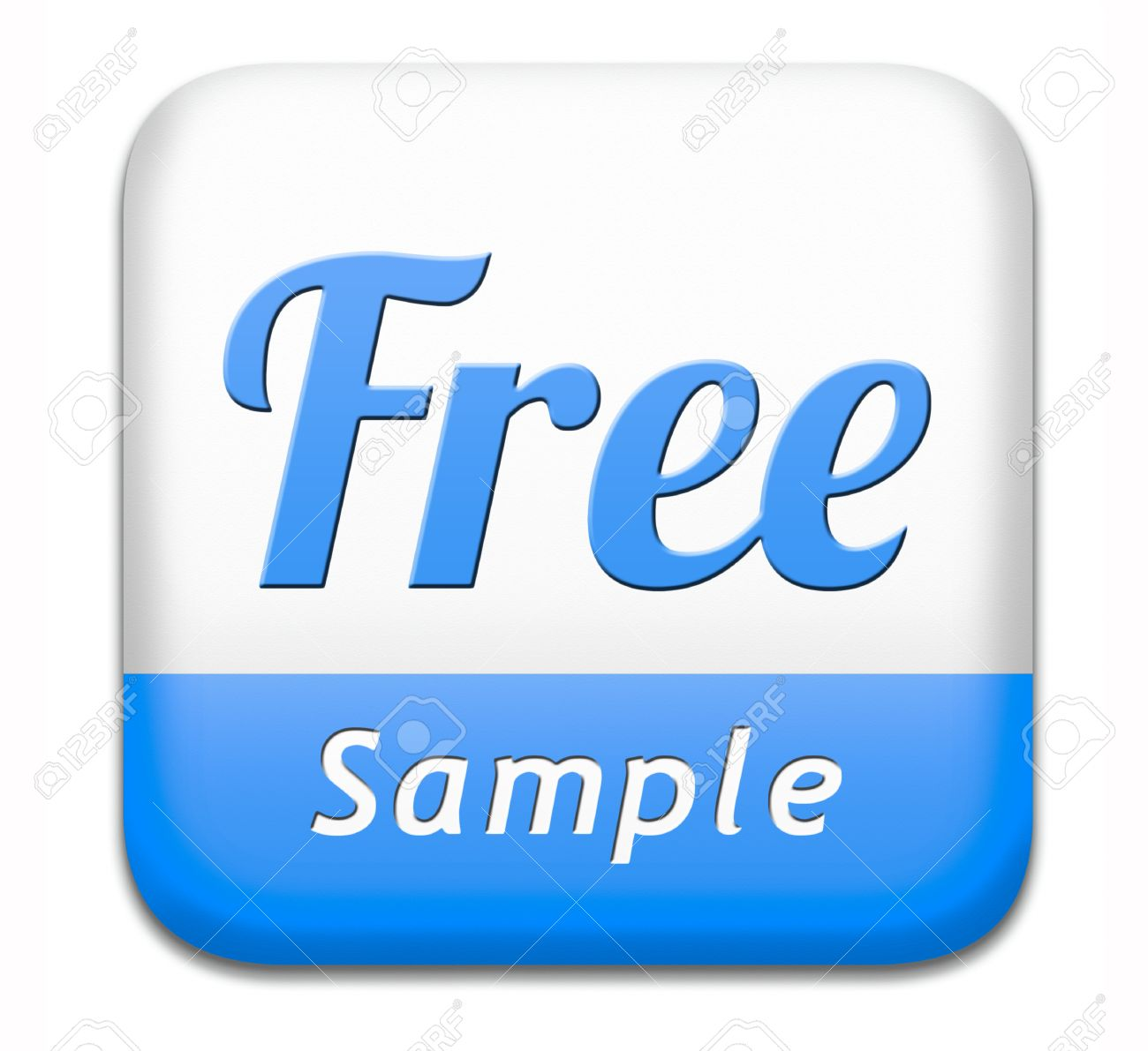 free product sample offer or gratis download webshop button or web shop icon or sticker stock