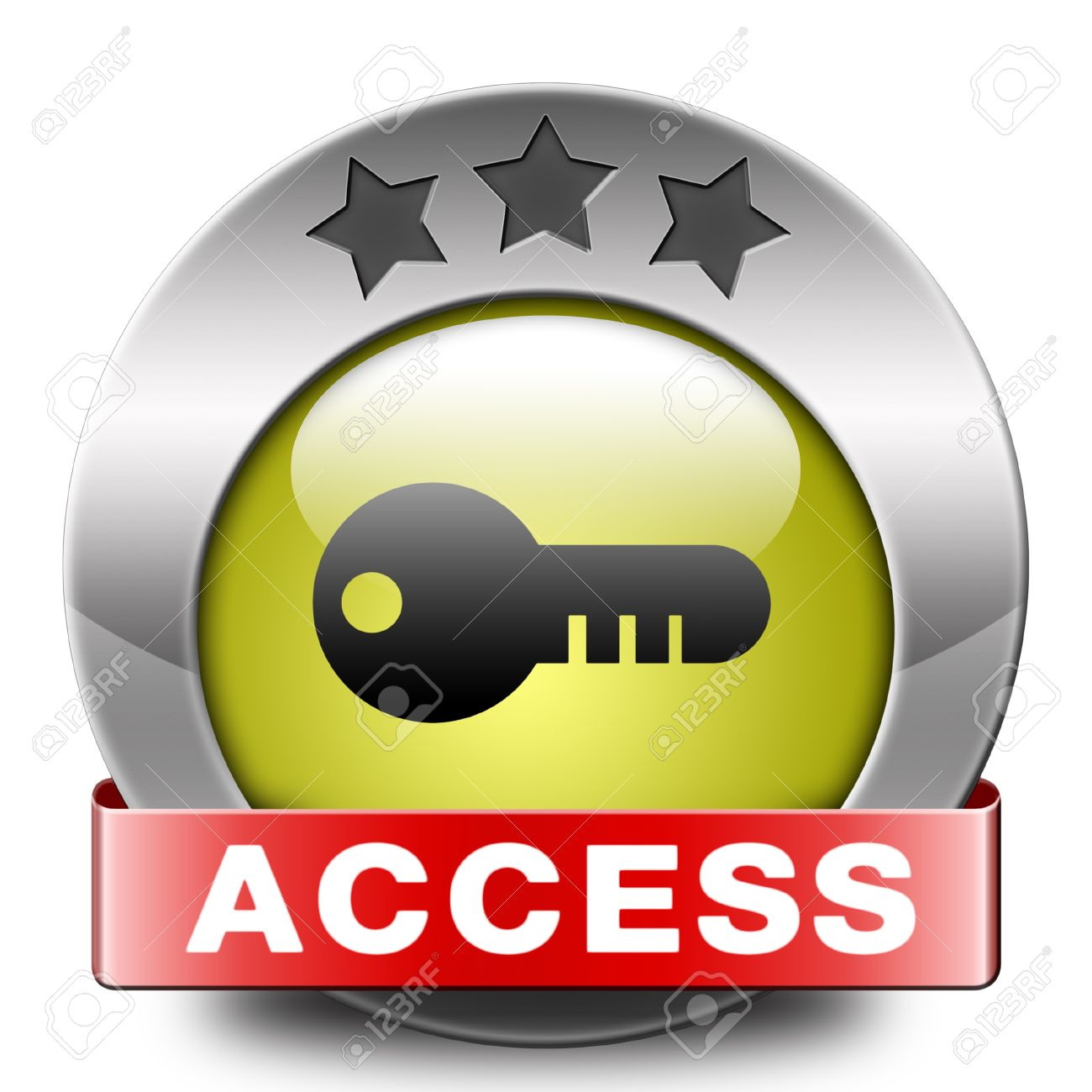 Access Key Icon Password Protected Restricted Area Members Only ...