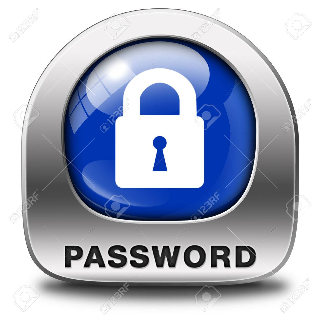 Password Protected Button Data Protection By Using Strong Safe ...
