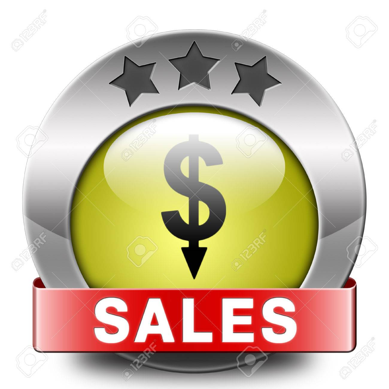 Stock Photo - sales icon online shopping concept with discount web shop bargain cheap order at webshop sale icon