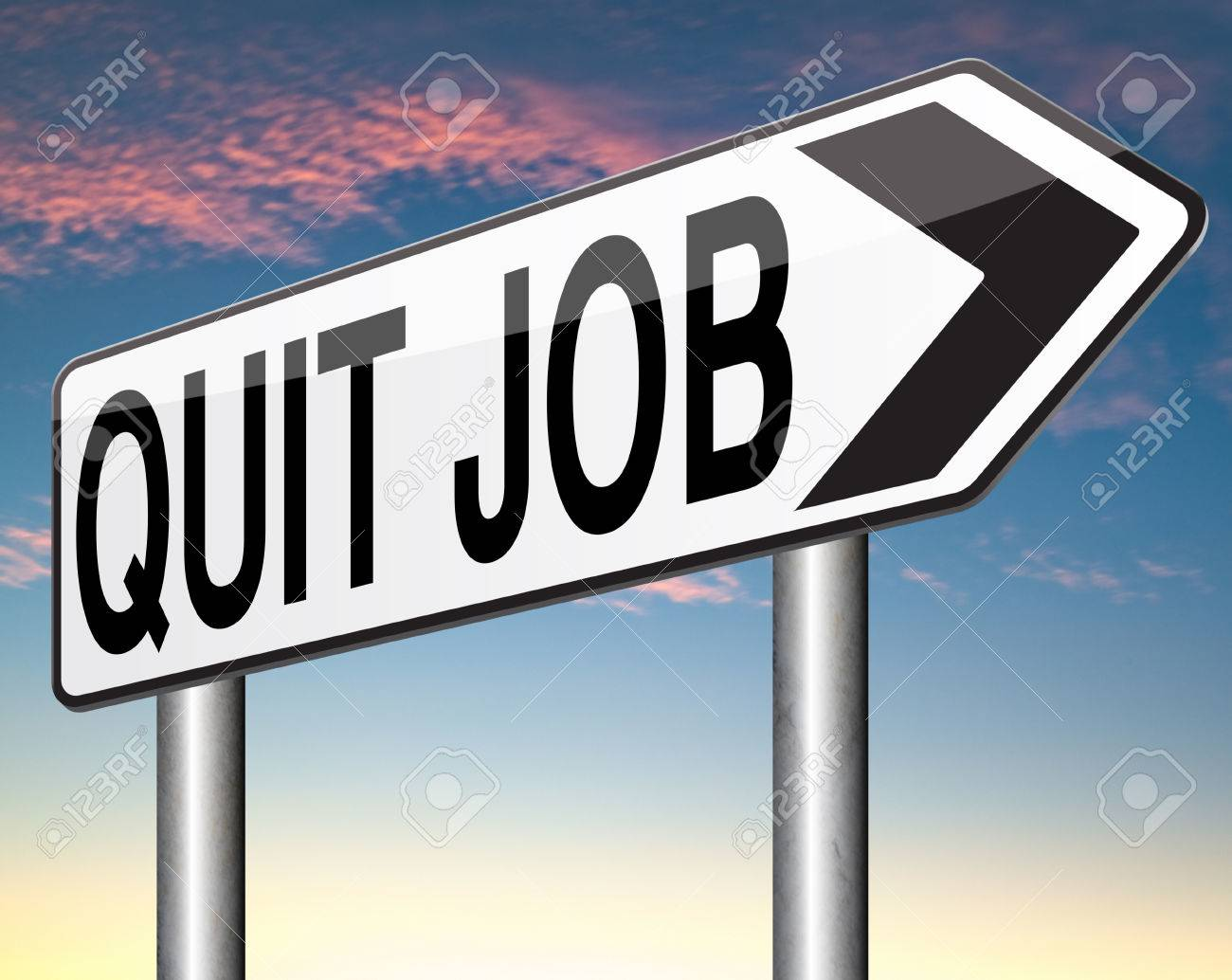 quit job career move resigning from work and getting unemployed stock photo quit job career move resigning from work and getting unemployed