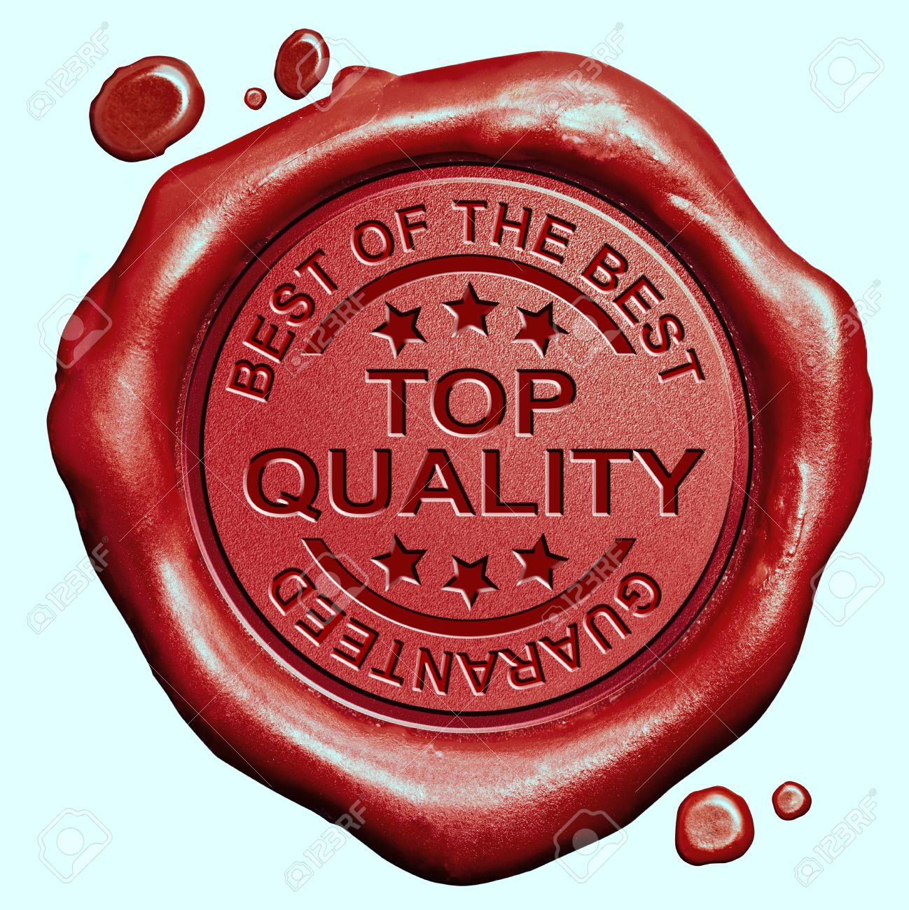 top quality label best of the best product guaranteed promotion