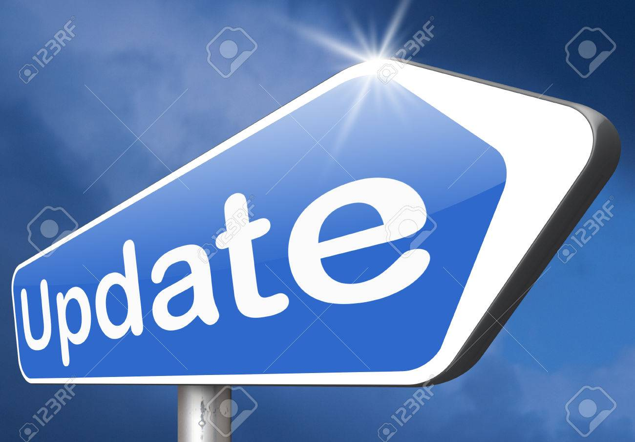 Update updating software now and here to the latest newest version