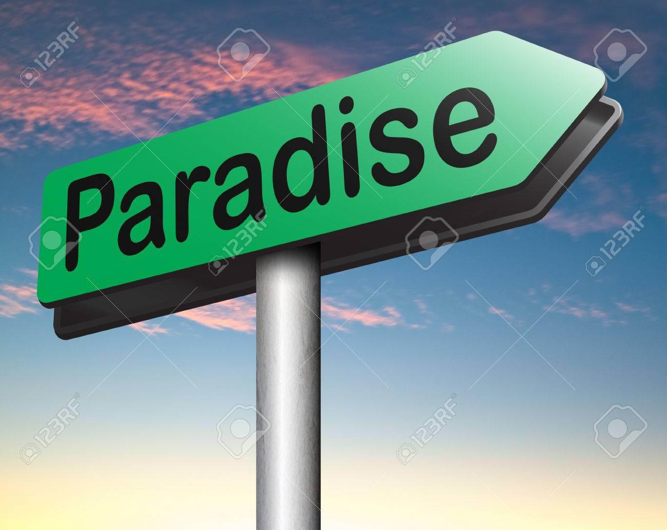 Paraíso Camino Camino Al Cielo Fantástica Playa Tropical Exótica ...