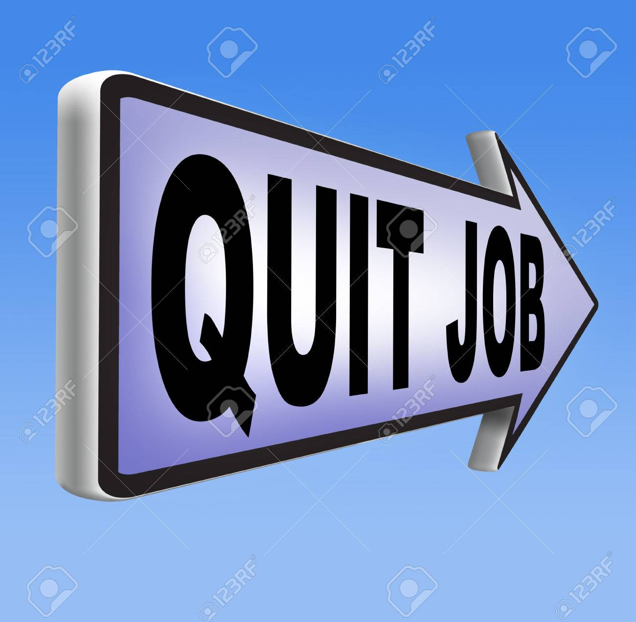 quit job change profession resigning from work and getting stock photo quit job change profession resigning from work and getting unemployed