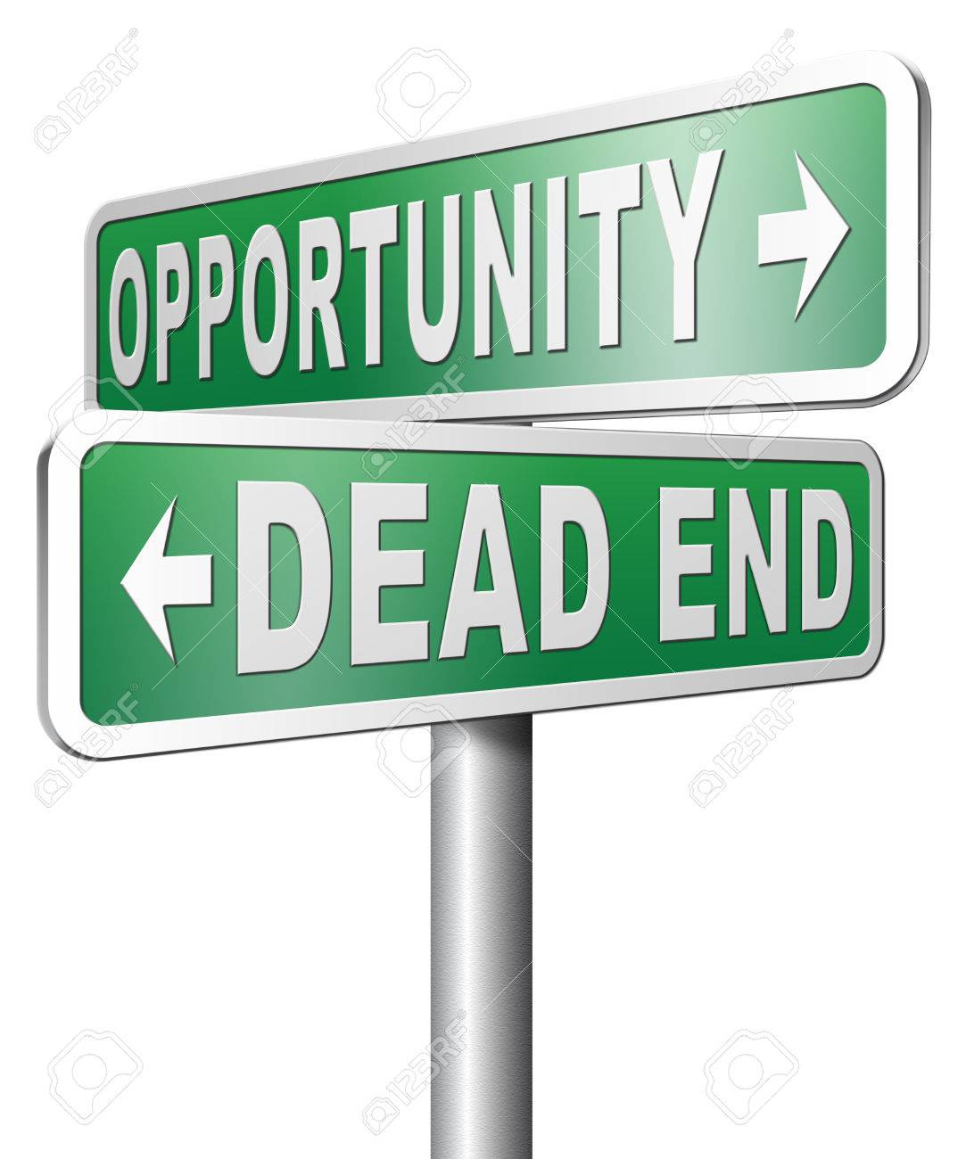 dead end job images stock pictures royalty dead end job dead end job opportunity or dead end a better choice for business way or