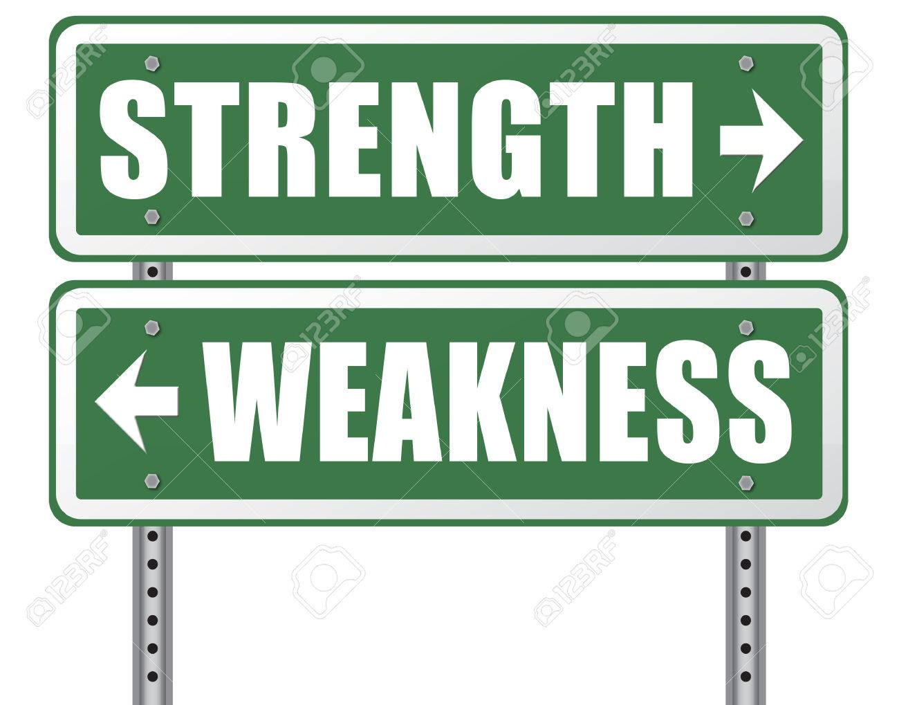 strength or weakness being strong or weak overcome problems accept stock photo strength or weakness being strong or weak overcome problems accept the challenge to success