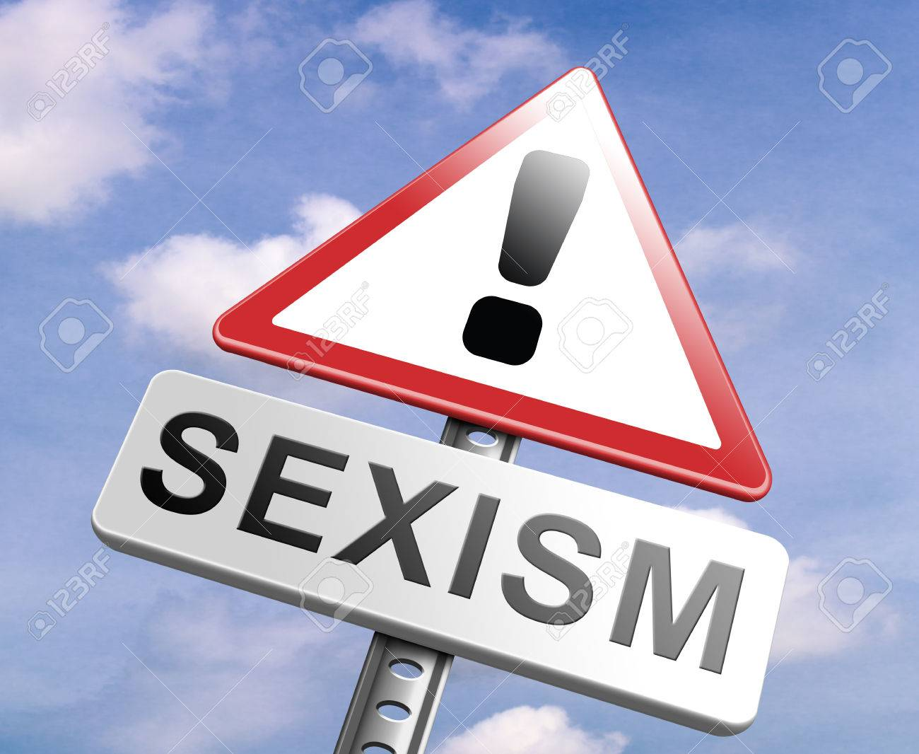 Stop Sexism No Gender Discrimination And Prejudice Or Stereotyping ...