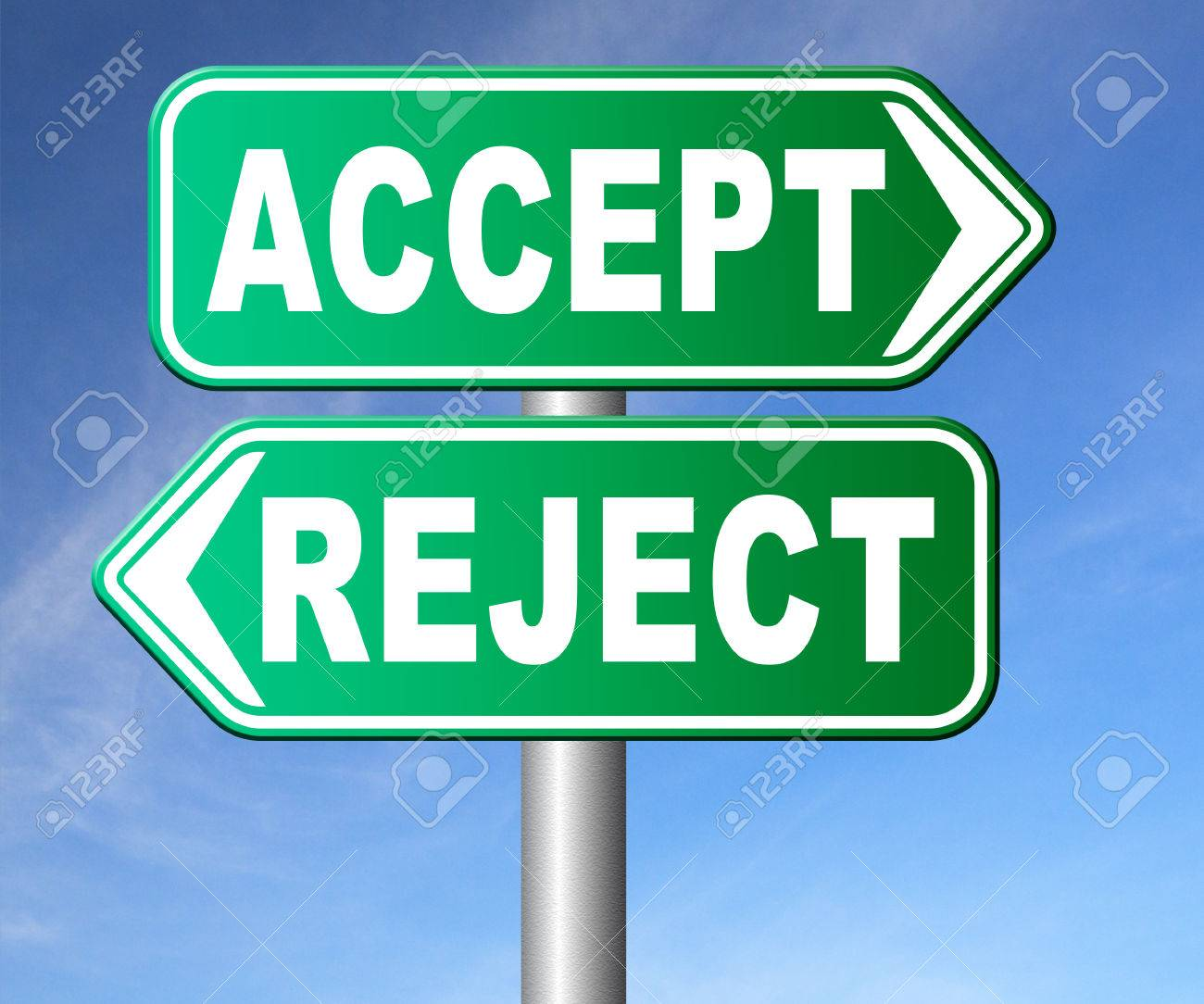Accept reject approve or decline and refuse offer proposal or accept reject approve or decline and refuse offer proposal or invitation yes or no stock stopboris Images