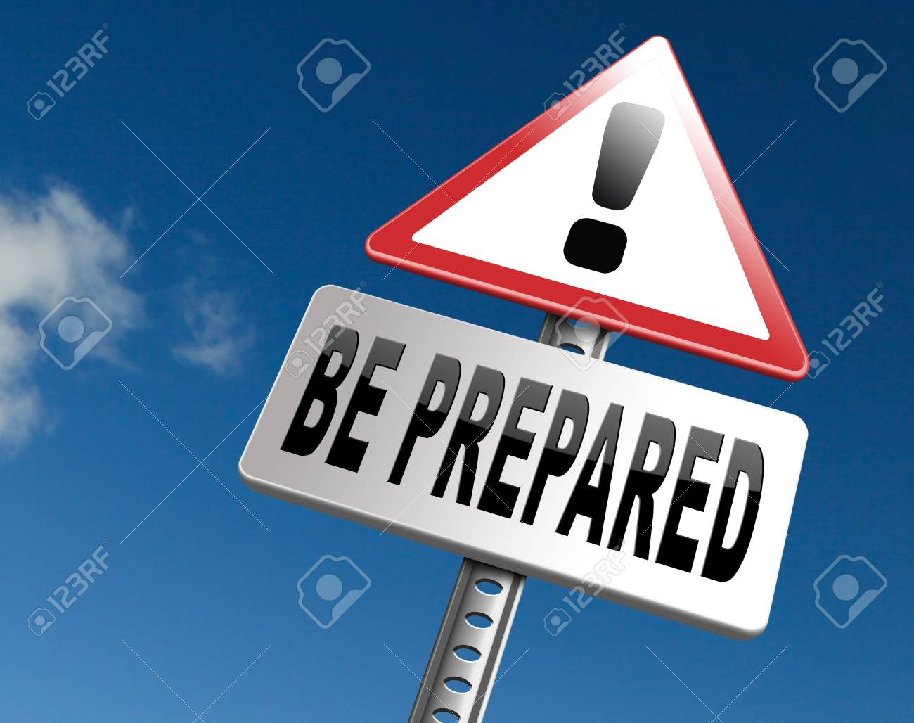 Be prepared and ready before the big change. Are you ready, it is time to plan ahead and in advance. - 65261401