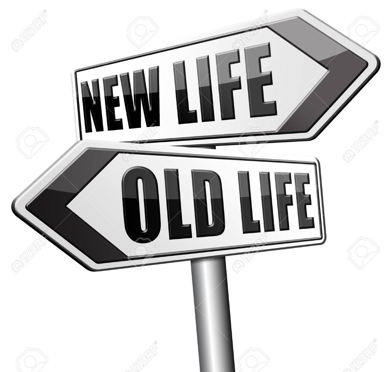 das leben neu beginnen