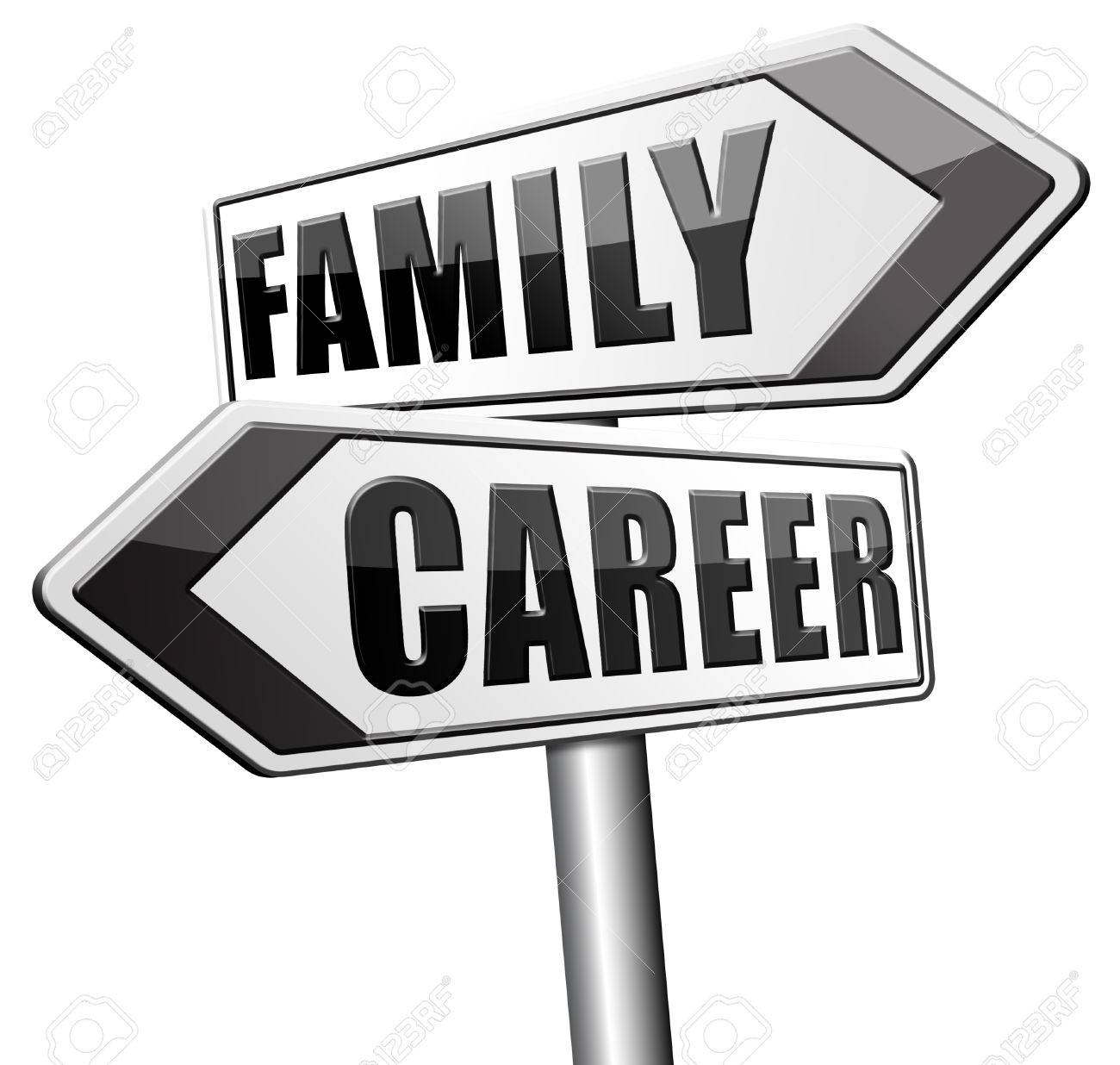 family versus career balance in work business and health leisure stock photo family versus career balance in work business and health leisure time change job direction move away from workaholic