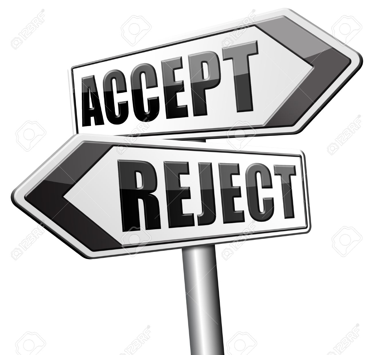 accept reject approve or decline and refuse offer proposal or stock photo accept reject approve or decline and refuse offer proposal or invitation yes or no