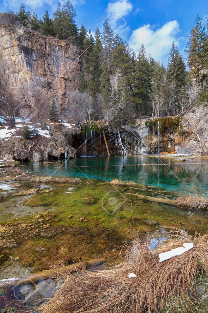 Erstaunlich Hanging Lake In Der Nähe Von Glenwood Springs Colorado