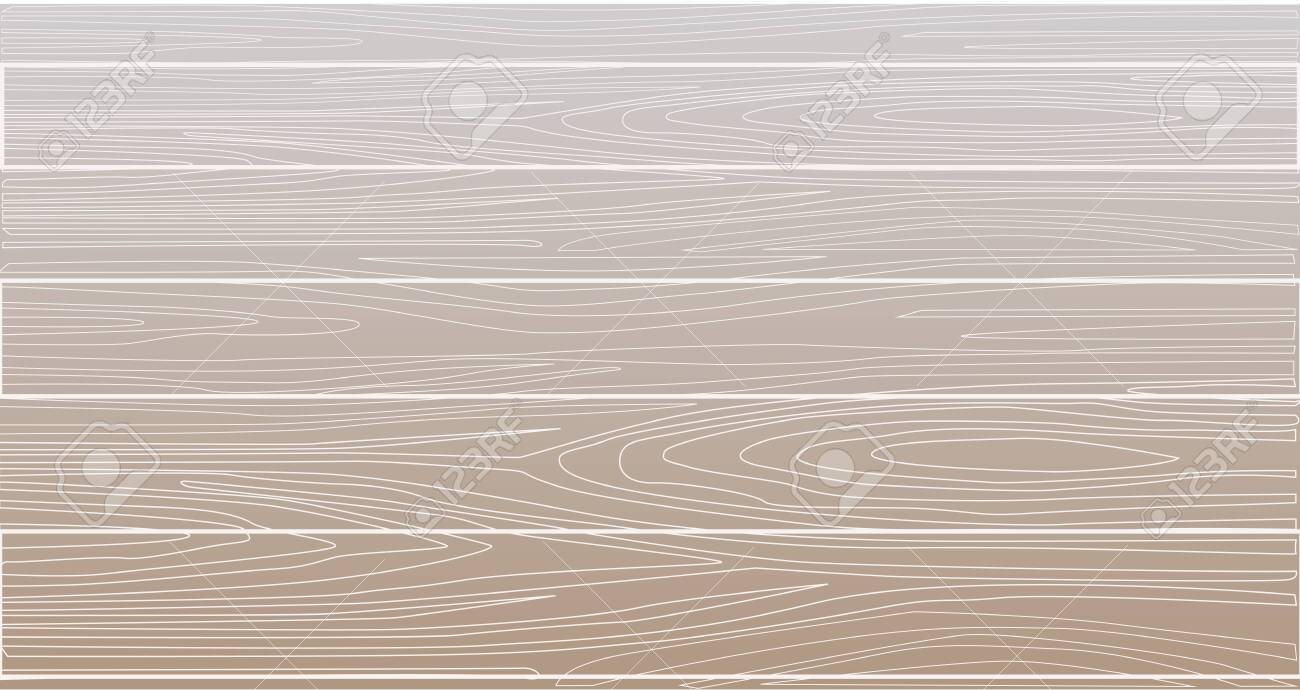 Wooden light board background. Background of boards (floor, table or wall). Derevyanny with a pattern on cuts. Background copy space. - 134669894