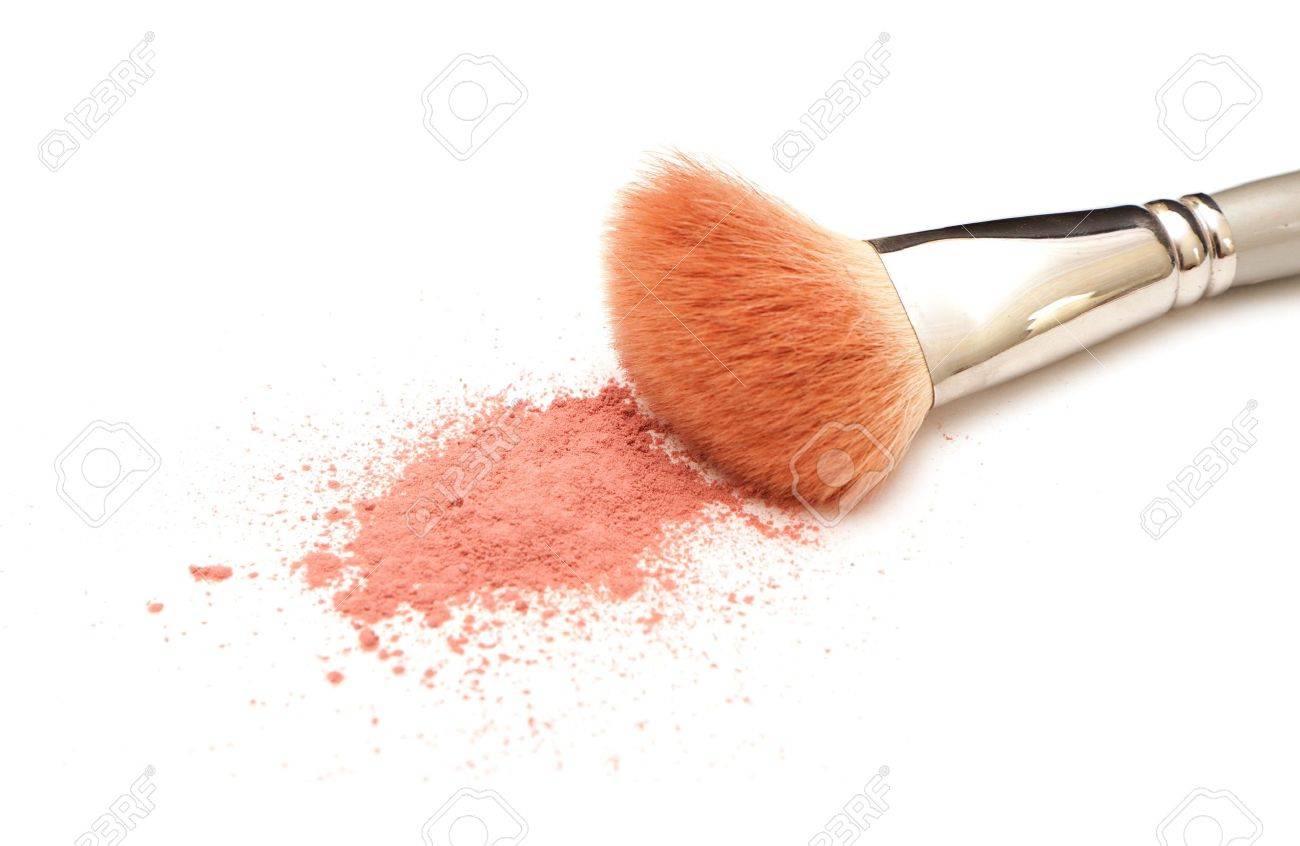 photo of powder on white background, close-up Stock Photo - 11105838