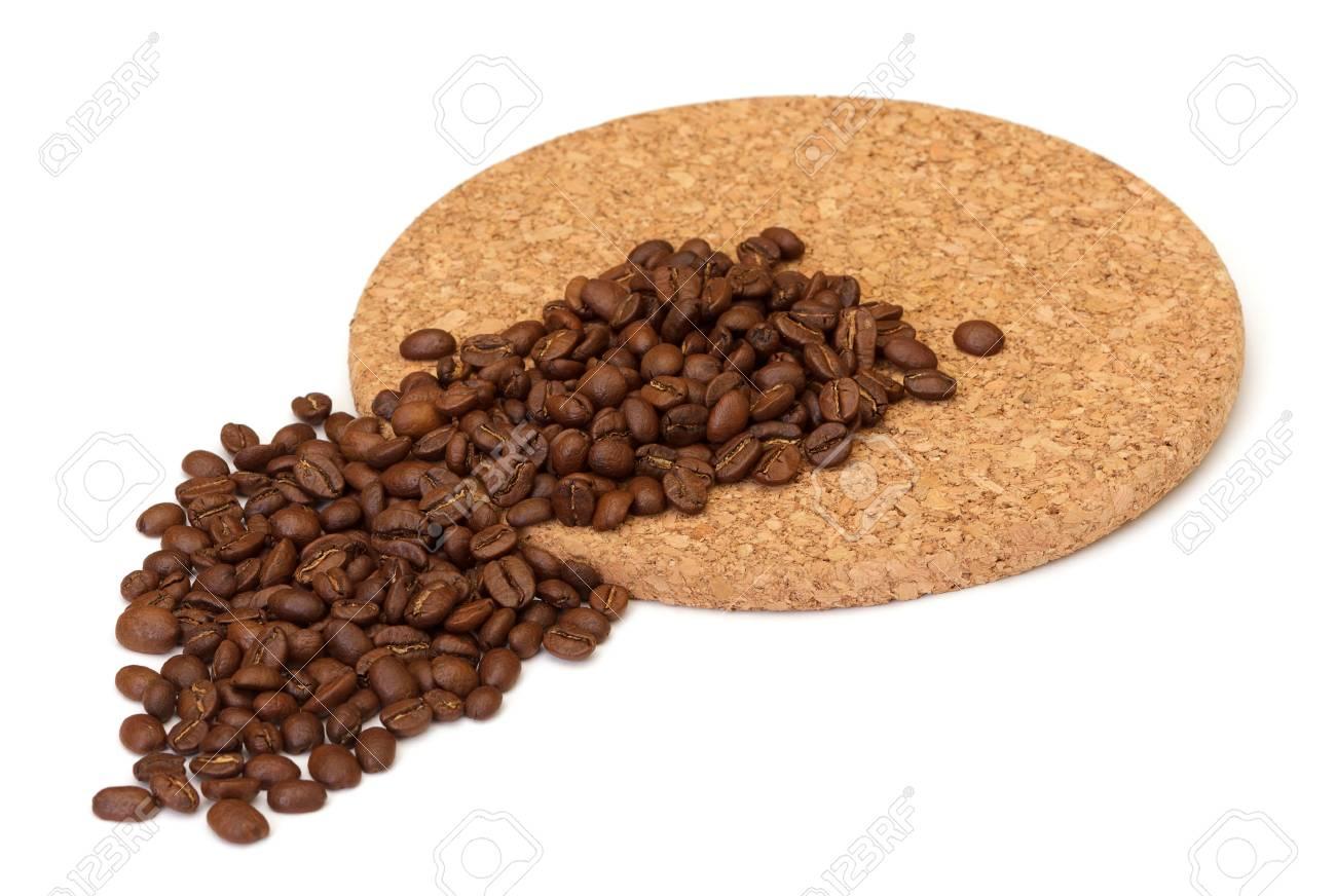 coffee beans on white background Stock Photo - 11141582