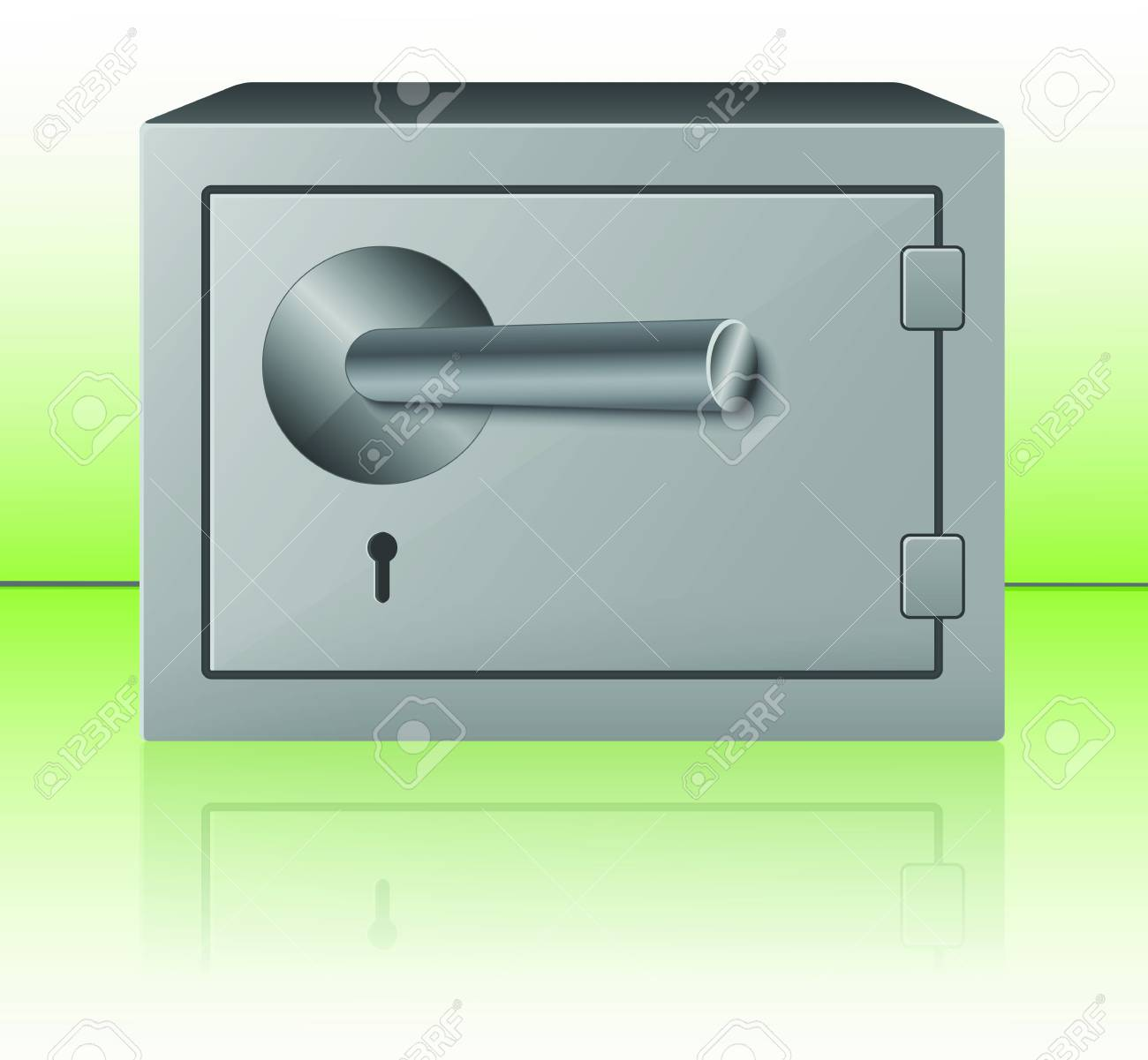 Safe  illustration Stock Vector - 17179968