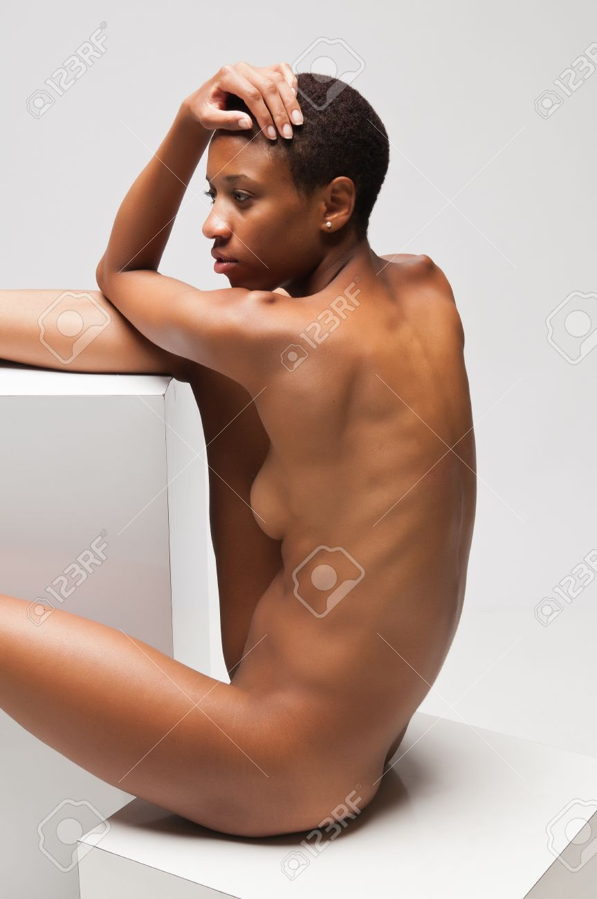 Young black naked women, sexy thick girl nude