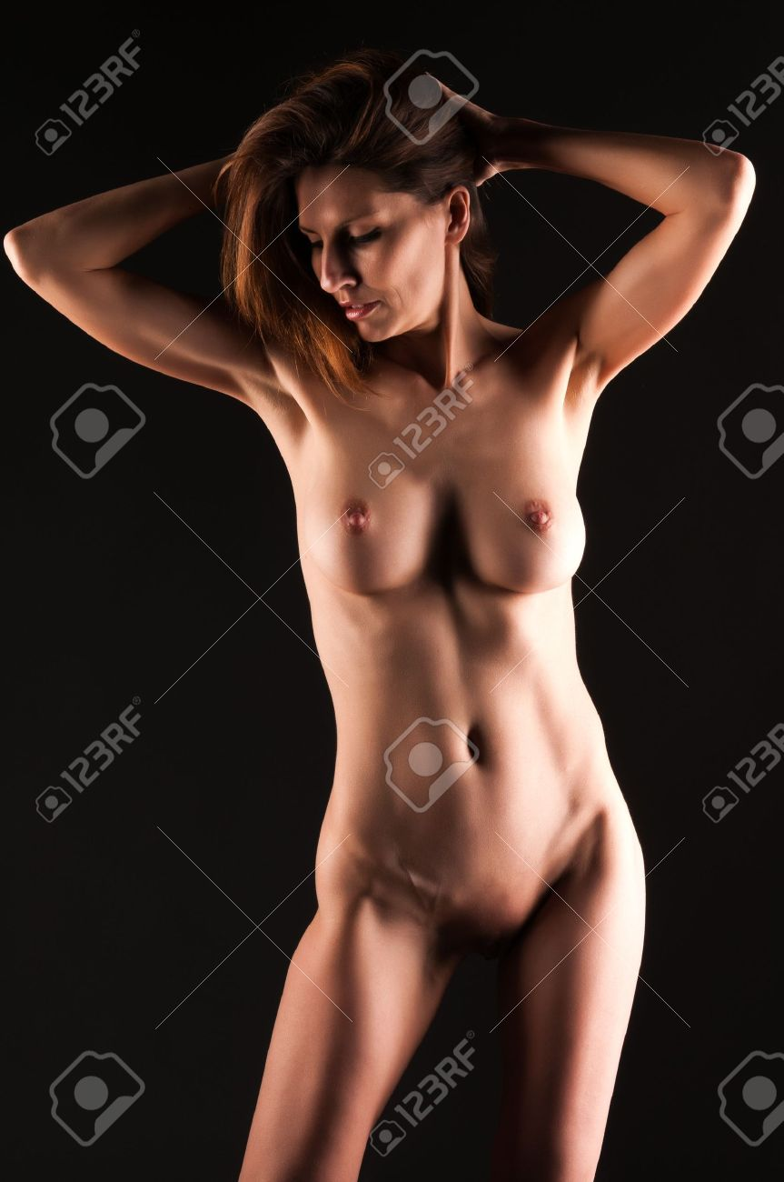 Tall brunette nude