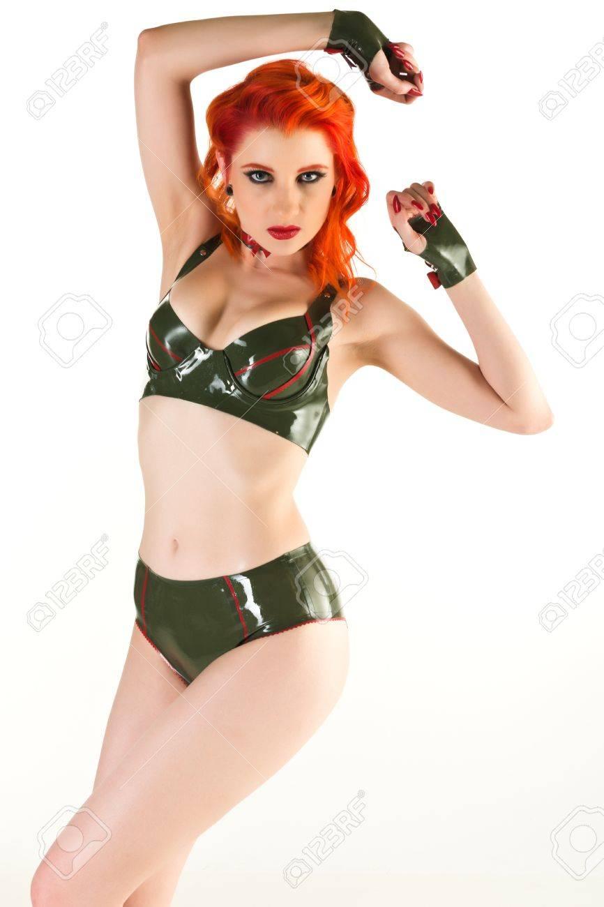 Free pale redhead