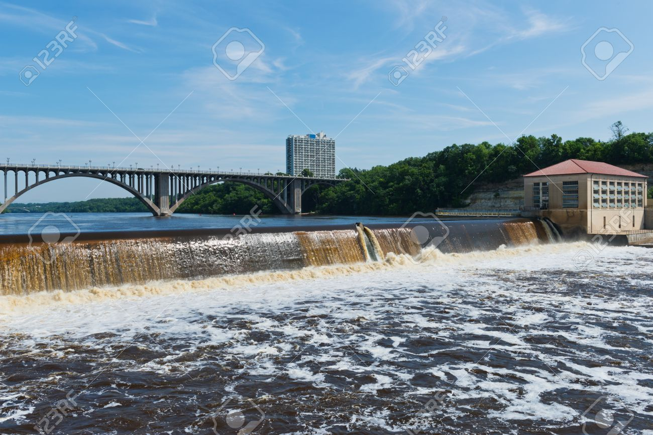 Image result for Mississippi River in Minneapolis