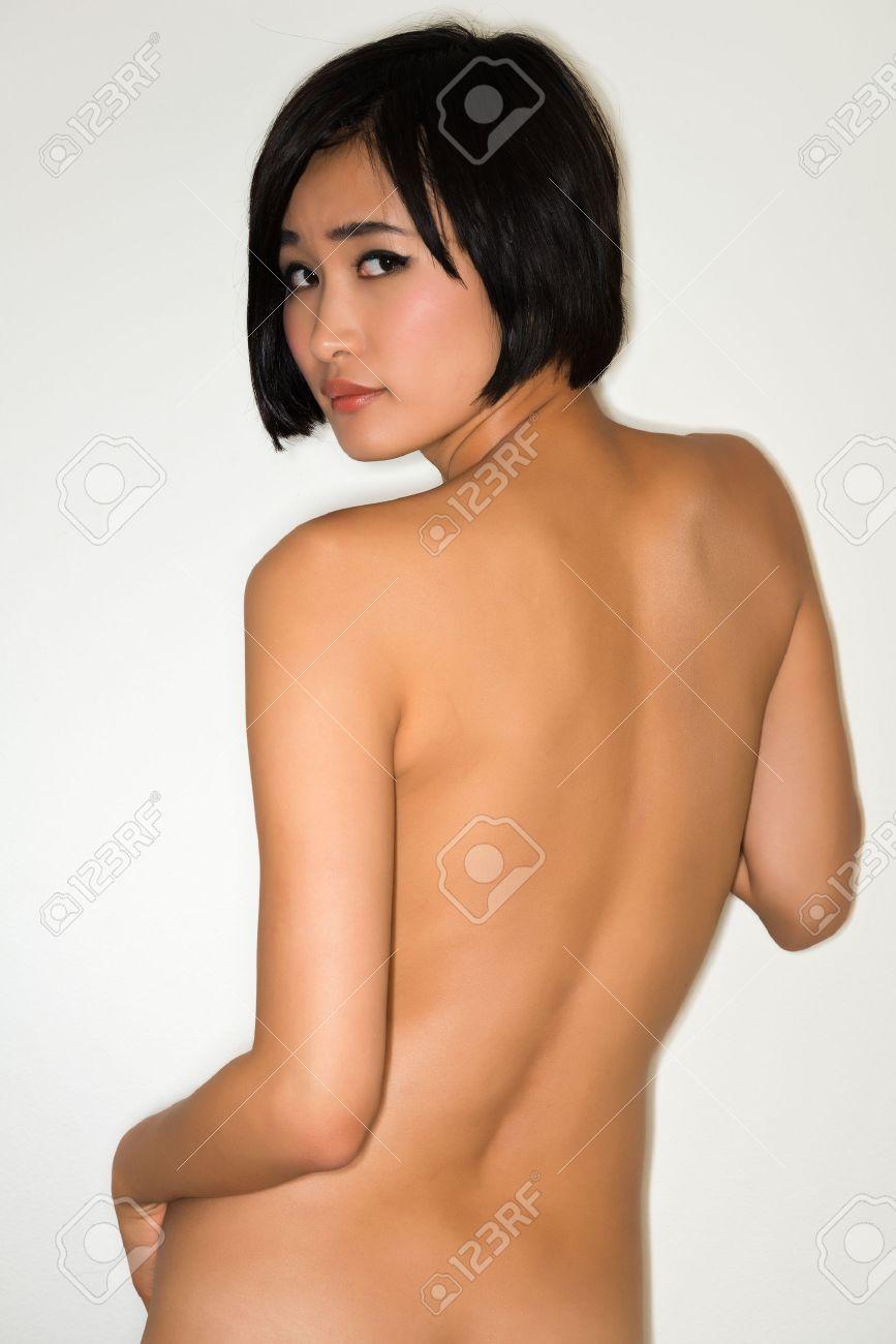 beautiful japanese wife nude - Beautiful young nude Japanese woman Stock Photo - 24284545