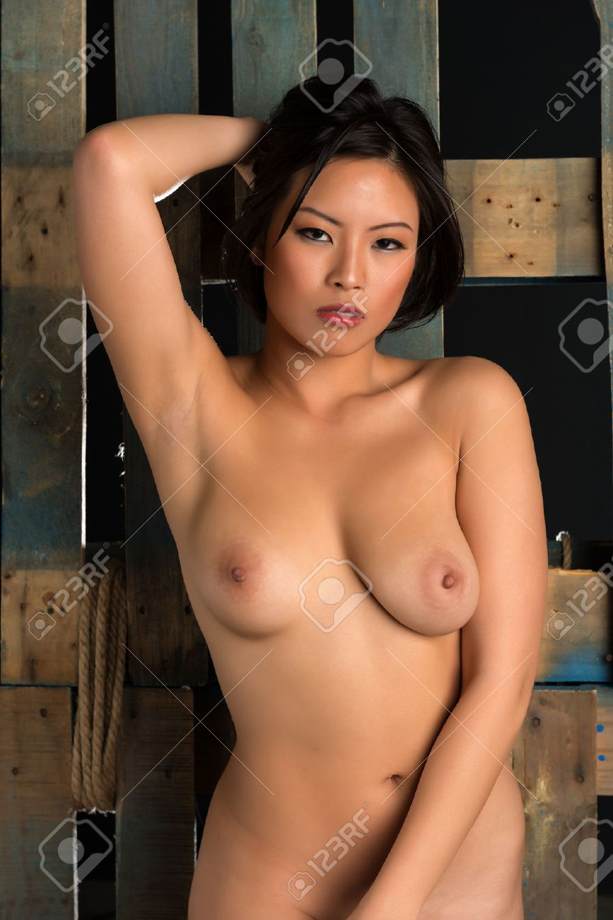 Beautiful Young Nude Chinese Woman Stock Photo Picture And