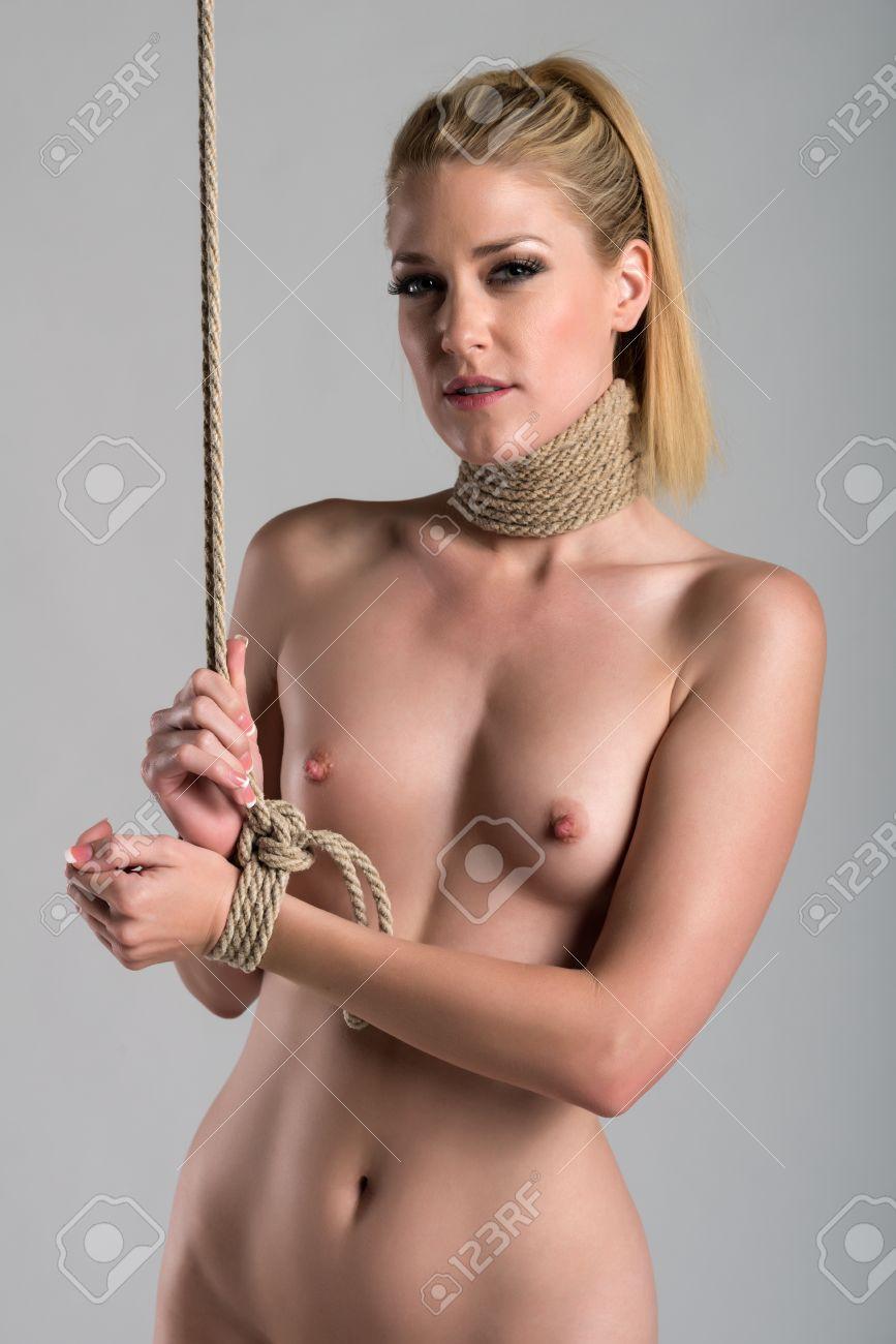 Bound beautiful nude women Beautiful Bound Women Posing Nude Bdsm Fetish