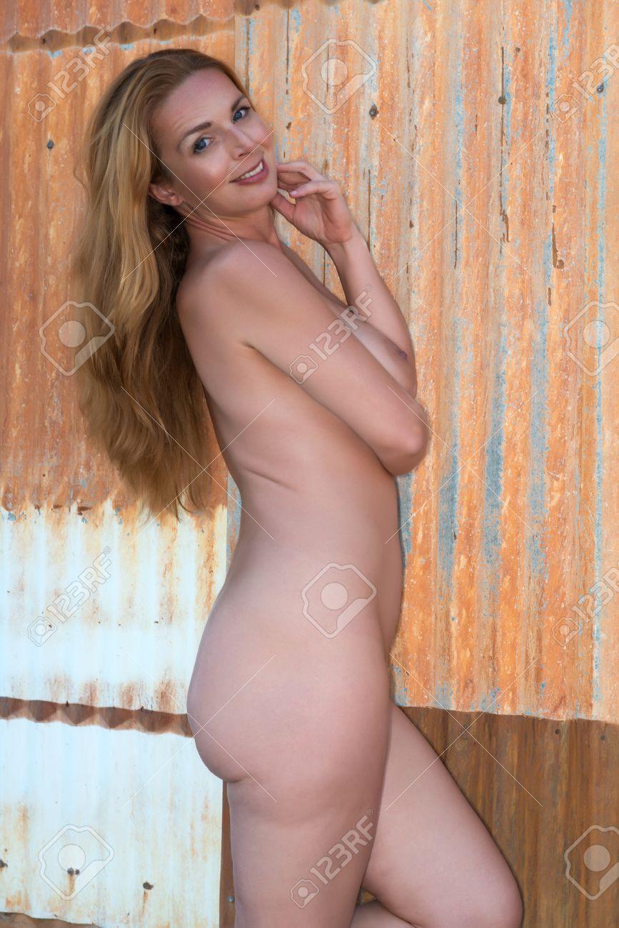 Tall redhead nude