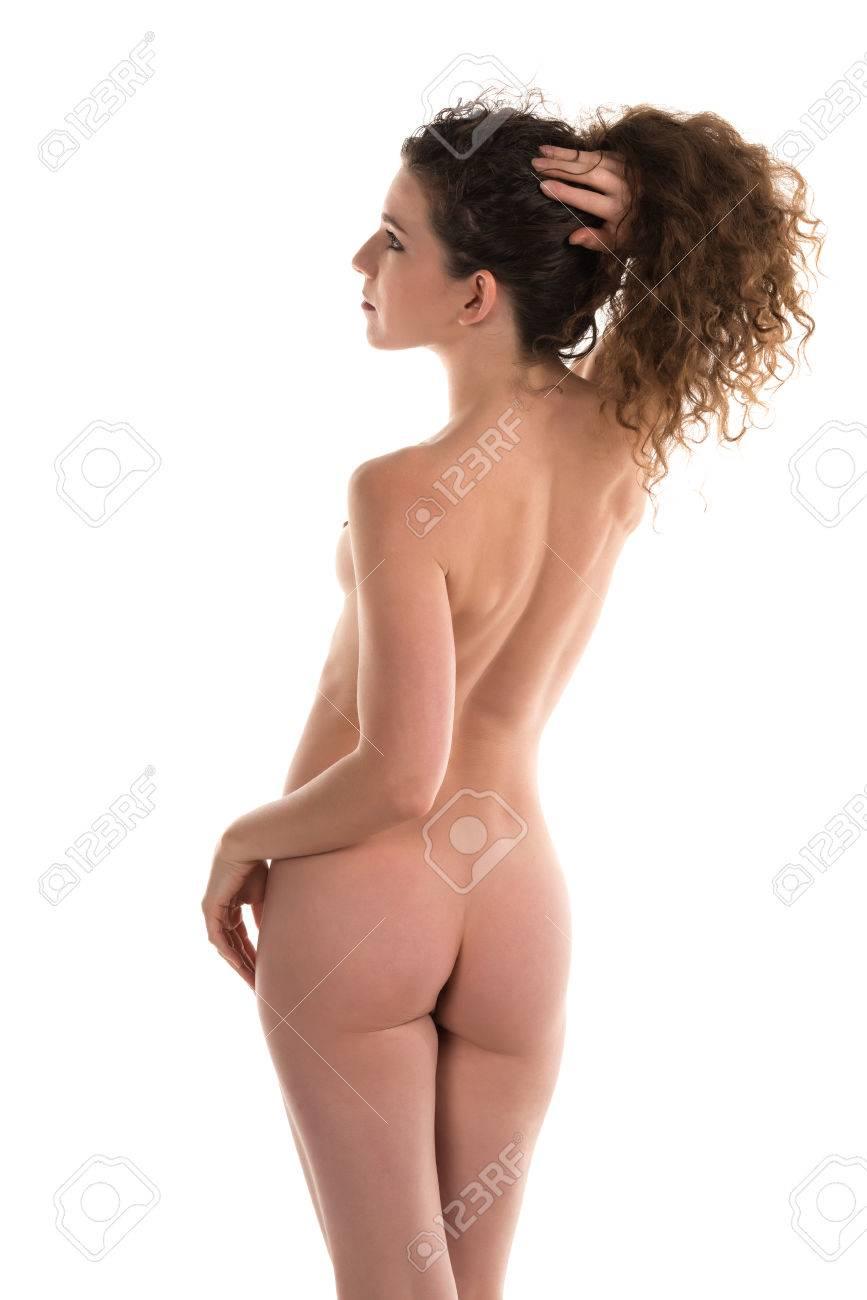 schlanke brünette nackt