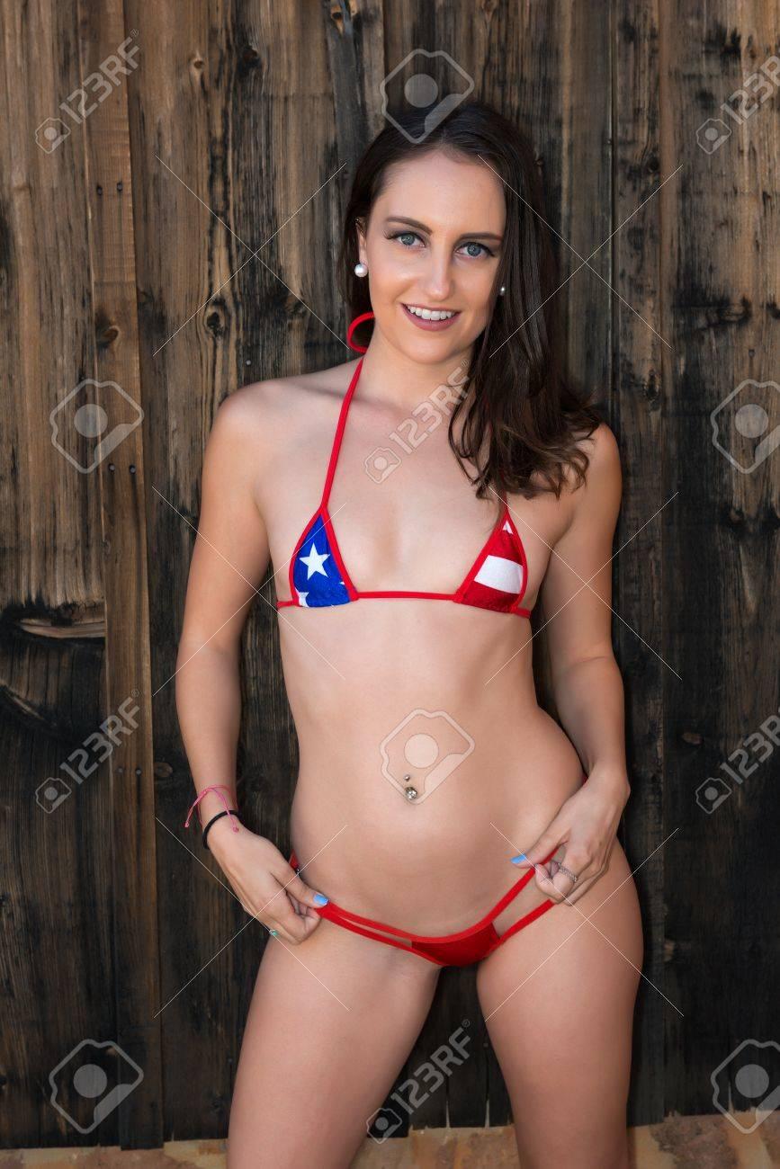 Short petite nude woman