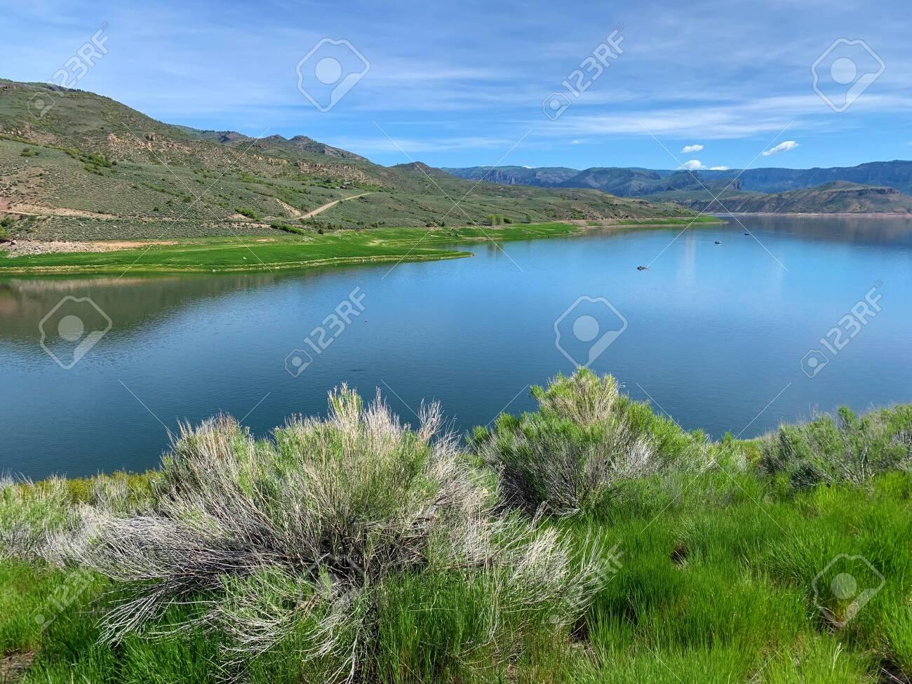 Blue Mesa Reservoir on the Gunnison River, Gunnison, Colorado - 125202192