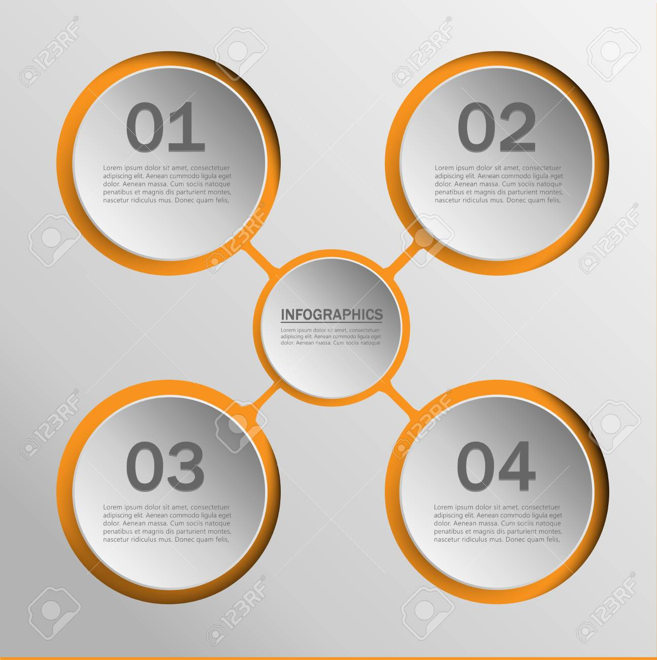 Infographics Templates For Charts, Graphs, Presentations And ...