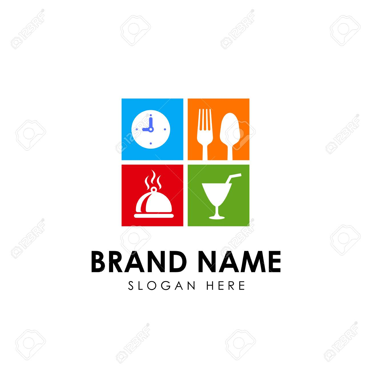 Restaurant Logo Design Template Restaurant Icon Sign Design Royalty Free Cliparts Vectors And Stock Illustration Image 117598077