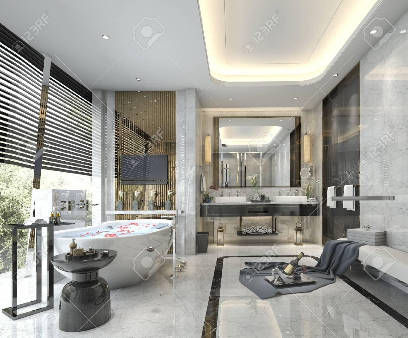 Conforama Salle De Bain Meuble ~ Salle De Bains Classique Moderne Offrant Un D Cor De Carrelage De
