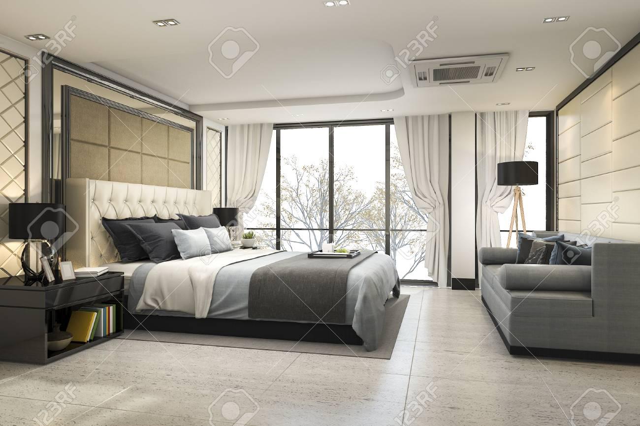Modern Bedroom Marble Design