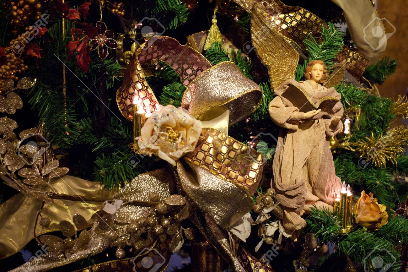 angel on top of christmas tree part 44 decoration on the christmas tree - Christmas Tree Angel