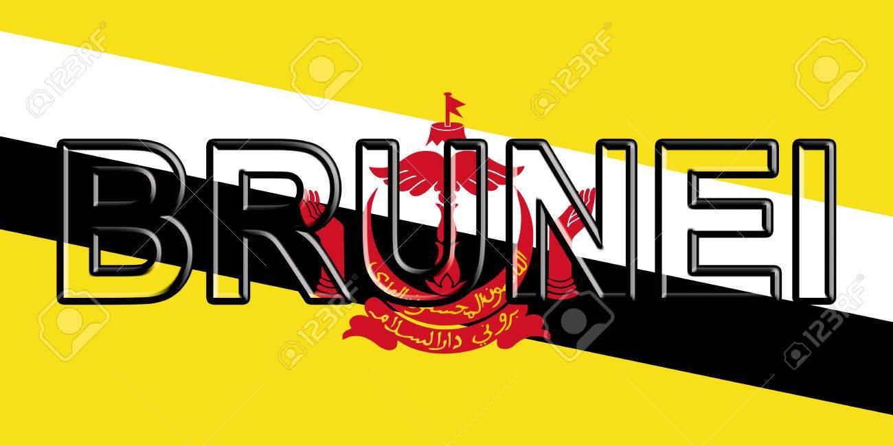 Image result for Brunei written