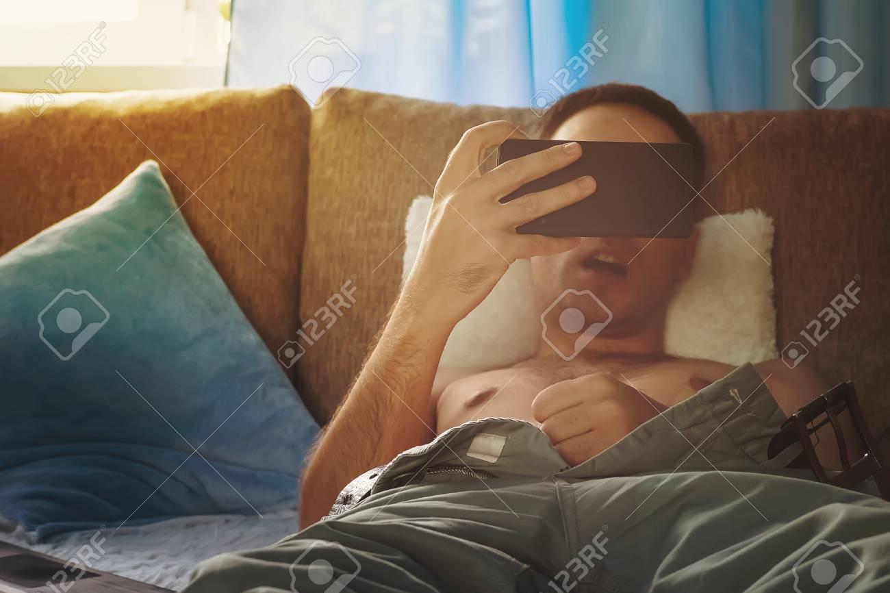 Teen Watching Interracial Porn