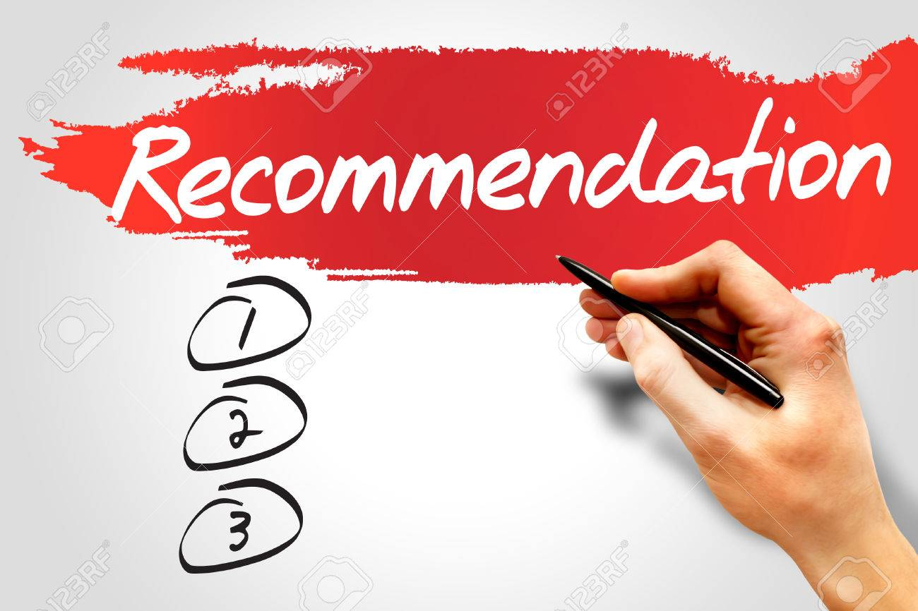 recommendation blank list business concept stock photo picture recommendation blank list business concept stock photo 37920080
