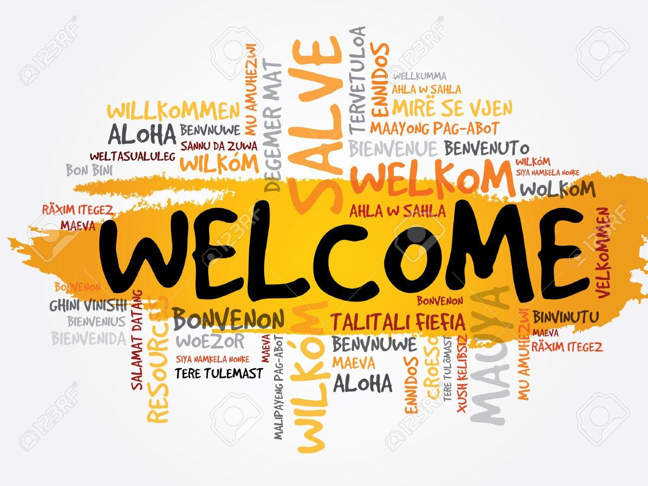 Presentacion 38302636-Bienvenido-en-diferentes-idiomas-palabra-nube-concepto-de-negocio-Foto-de-archivo