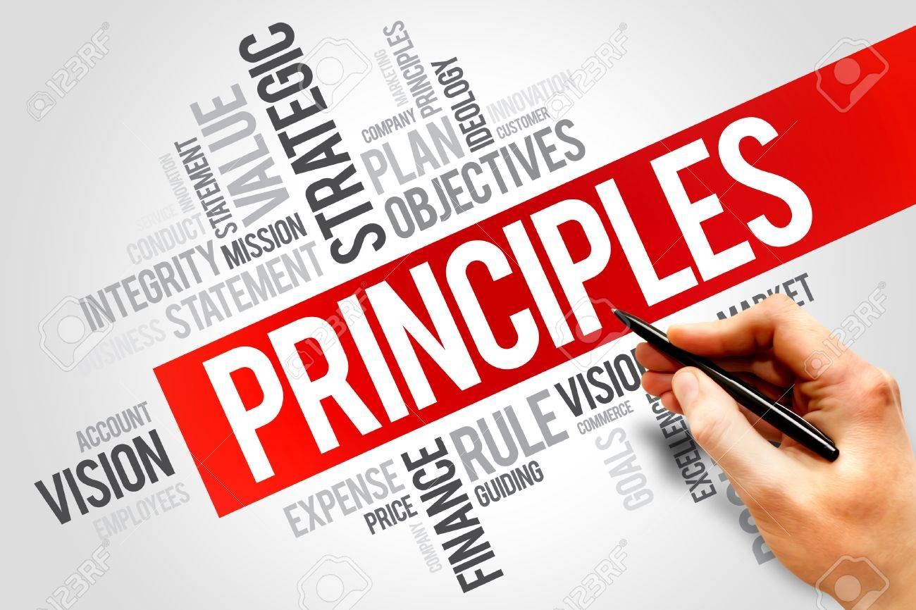 Having Business Principles