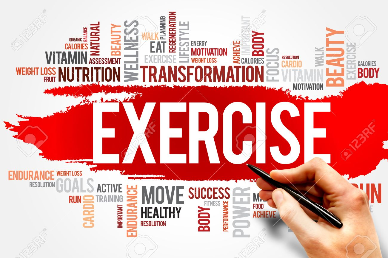 Exercise Word Cloud Fitness Sport Health Concept Stock Photo Picture And Royalty Free Image Image 40765443