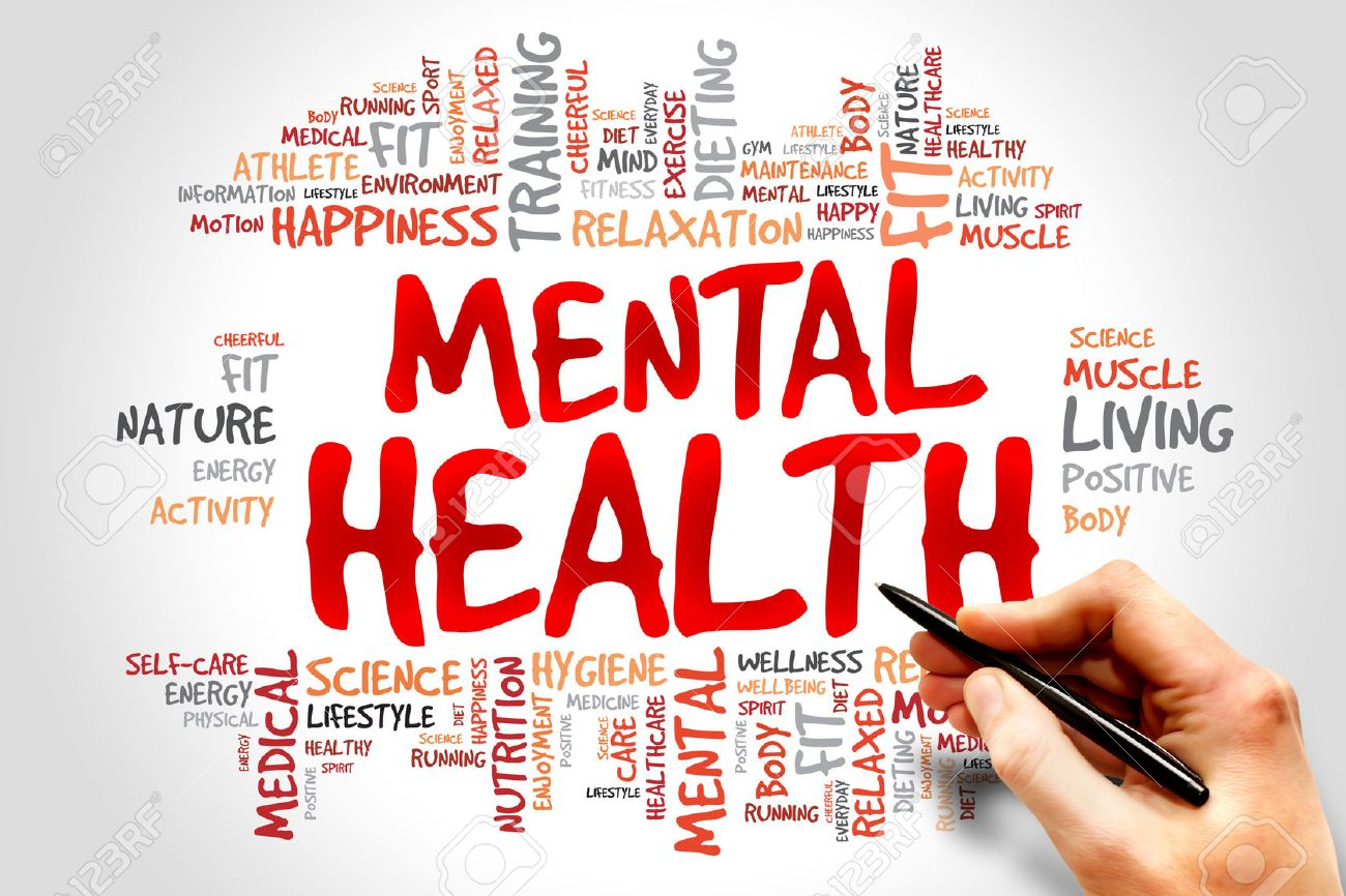 Mental Health Word Cloud Health Concept Stock Photo Picture And Royalty Free Image Image 41932576