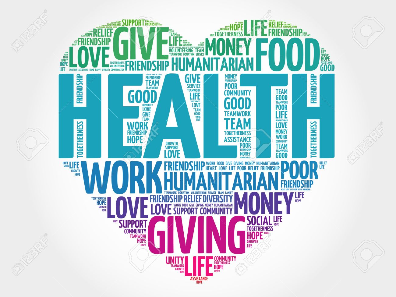 Words that relate to health